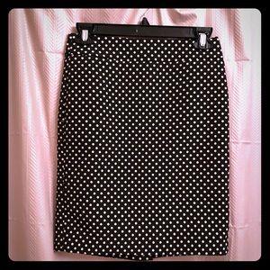 NWOT Ann Taylor Polka Dot Skirt
